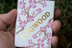 1 DECK Dogwood RARE, UNIQUE custom playing cards