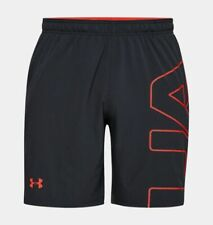Under Armour UA Men UA Cage Graphic Shorts HeatGear 2XL XXL Keeps you cool Gray