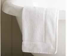 5 Pack Bath Mats 100% Egyptian Cotton Frame Design 600GSM Hotel Grade Quality