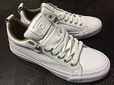 Converse All Star White Leather Fulton Oxford  151048C Men8/Wo's9.5 Chuck Taylor