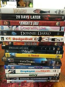 #3 MUST PICK 3 (ADD 3 TO CART) or order will be cancelled 3 MOVIE DVDs for $7.50