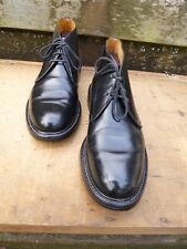 CHURCH GENTLEMANS BOOTS –  BLACK – UK 7 – ANDORRE – VERY GOOD CONDITION