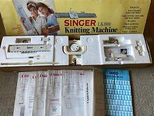Singer LK100 Knitting Machine + Tools, Accessories, Manual , No Video