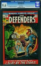Defenders #1 CGC 9.6 Marvel 1972 Dr. Strange! Hulk! Sub-Mariner! WP! L5 953 cm