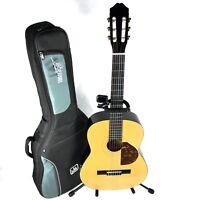 Burswood JC-390F Acoustic Guitar Comic Design Stand Case Tuner **FREE UK P&P**