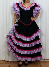 Classic Flamenco dress, vestido de gitana clasico