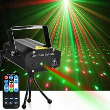 LED Disco DJ Party Laserlichter Mini Auto Farbe Bühnenblitz Lichter Mit IR-Fernb