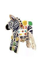 Manhattan Toy Zebra Activity Toy
