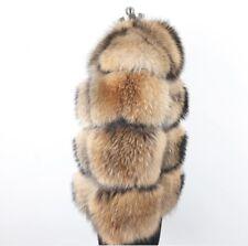 Real Raccoon Fur Coat For Women