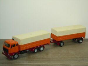 Volvo FB 89 Truck & Trailer - Nacoral Spain 1:50 *48103