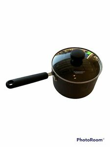 Pampered Chef 3 Qt 2.8 L Professional Hard Anodized Titanium Nonstick Pan & Lid