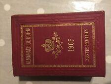 ALMANACH de Gotha 1905 Noblesse Genealogie Justus Perthes