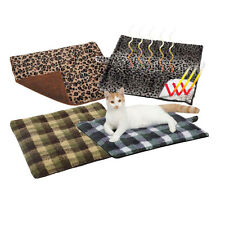 Slumber Pet Thermal Cat Mat Pad Reflects Body Heat No Batteries/Electricity Req