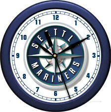 "MLB Seattle Mariners 10"" Wall Clock"