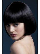 Mia Wig Black New Adult Halloween Cristmas Womens Sexy Look Accessorie by Fever