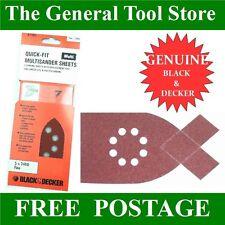 BLACK AND DECKER multisander belle tavole Velcro KA 210 e 220E 230E 110 110E