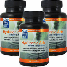3 x Neocell Pure H.A. Hyaluronic Acid 60 Caps, Fresh, Made In USA, Global Ship