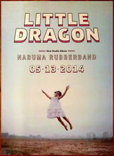 Little Dragon Nabuma Rubberband Ltd Ed Discontinued Huge Rare Poster! Indie Pop