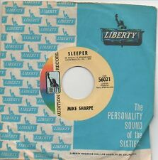 MIKE SHARPE 45 RPM Promo Record MISSISSIPPI DELTA (Bobby Gentry) / SLEEPER Mint!