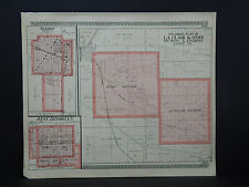 Illinois, Lee County Map, 1921 Harmon, West Brooklyn, Le Claire & O'Gee O1#27