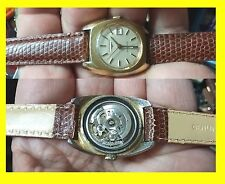 LONGINES AUTOM. GOLD FILLED BOY-LADY IMPERMEABLE 1960-70 funzionante vintage