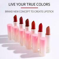 Waterproof Lipstick Velvet Matte Lip Gloss Non-Stick Lip Cup Balm V4U2