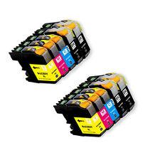 10 PK Printer Ink Set + SmartChip for Brother LC203 MFC-J680DW MFC-J880DW J885DW