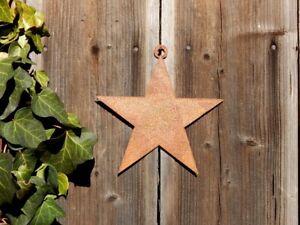 Stern Roststern Weihnachtsstern Dekohänger Edelrost Advent Weihnachtsdeko Xmas