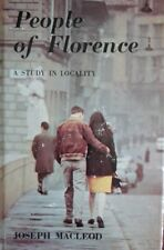 People of Florence Book (Joseph Macleod - 1968) (ID:92855)