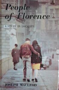 People of Florence Book (Joseph Macleod - 1968) (ID:92855)