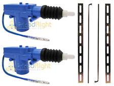 Universal 12 Volt Power Door Lock Actuator Motors Heavy Duty 2 Wire Pair Of Two