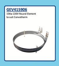CONVOTHERM ROUND ELEMENT 15Kw 220V GEV415906