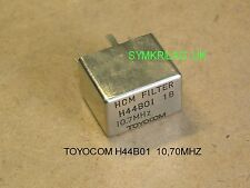 TOYOCOM H44B01 10,70MHZ 90dB/8 POLE HIGH SELECTIVITY CRYSTAL FILTER