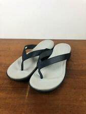 Crocs Women's Capri V Flip in Navy/Pearl White, Size 10 US, New Without Box