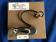 The 59 Wiring Upgrade Prewired Kit Fits Gibson Epiphone Les Paul Jr PIO Cap