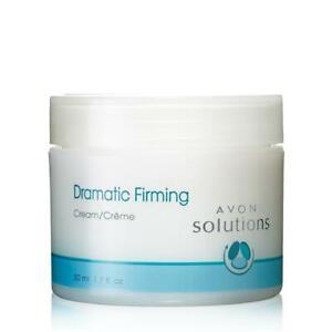 DRAMATIC FIRMING CREAM Avon Solutions 1.7 oz Moisturizer Face Neck Vitamin E A