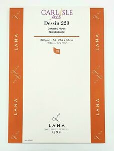 Lana Dessin Drawing Pad 220gsm - Choose Your Size
