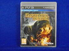 *ps3 CABELAS DANGEROUS HUNTS 2011 (NI) Cabela's Hunting Game PAL UK REGION FREE