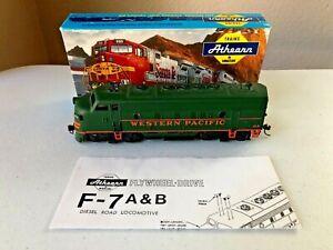 Athearn (blue box) HO F7A Diesel Locomotive - Western Pacific #918(custom paint)