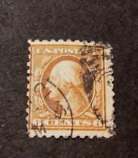 US Stamp Scott# 468  Washington 1916-17  BP7