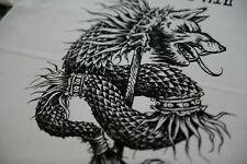 Stardust Draco T-shirt XL White | LP HATE FOREST BLOOD KINGU VON DRUDKH MORTEM