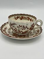 Copeland Spode Indian India Tree Tea Cup and Saucer Set