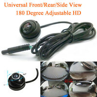 Waterproof CCD Car Rearview Front Side View Backup Reversing Camera Night Vision