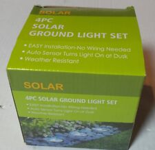 4Pack 2 bright LED Solar In ground Light Garden Pathway Outdoor US seller