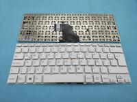 For Sony vaio SVF14 SVF14E SVF1421S1E SVF1421TST Laptop Spanish Keyboard White