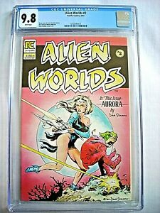 Pacific Comics ALIEN WORLDS #2 CGC 9.8 NM/MT Dave Stevens Bruce Jones 1983