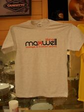 Maxwell Drums Sports Logo T-Shirt (Heather Gray)