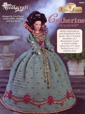 Catherine of London Outfit for Barbie Doll TNS Crochet PATTERN /Instructions