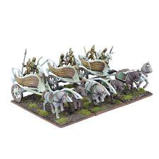 Mantic Games Kings of War BNIB Elf War Chariot Regiment MGKWE401