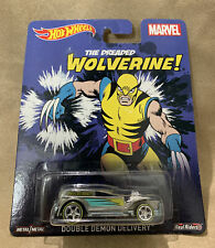 Hot Wheels Pop Culture The Dreaded Wolverine Double Demon Delivery! Marvel